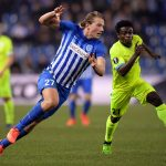 Sander Berge in action for Genk. (Getty Images)