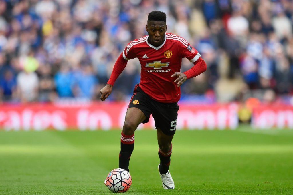 Manchester United right-back Timothy Fosu-Mensah.