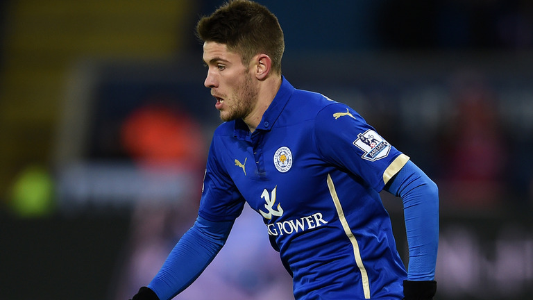 Andrej Kramaric during his time at Leicester City. (Getty Images)