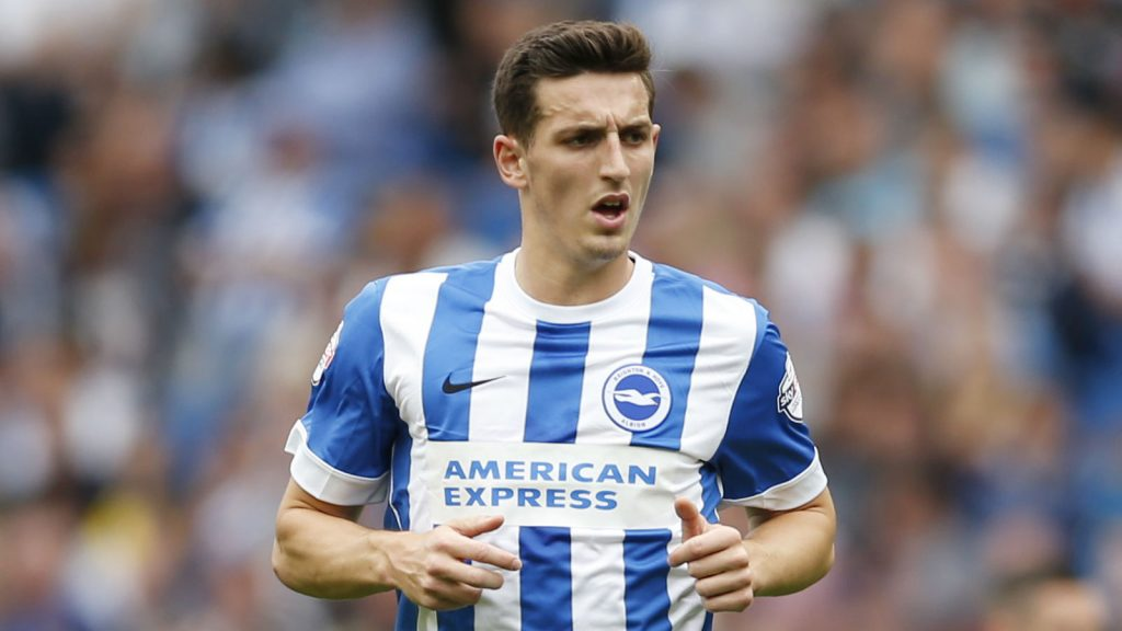 Lewis Dunk in action for Brighton. (Getty Images)