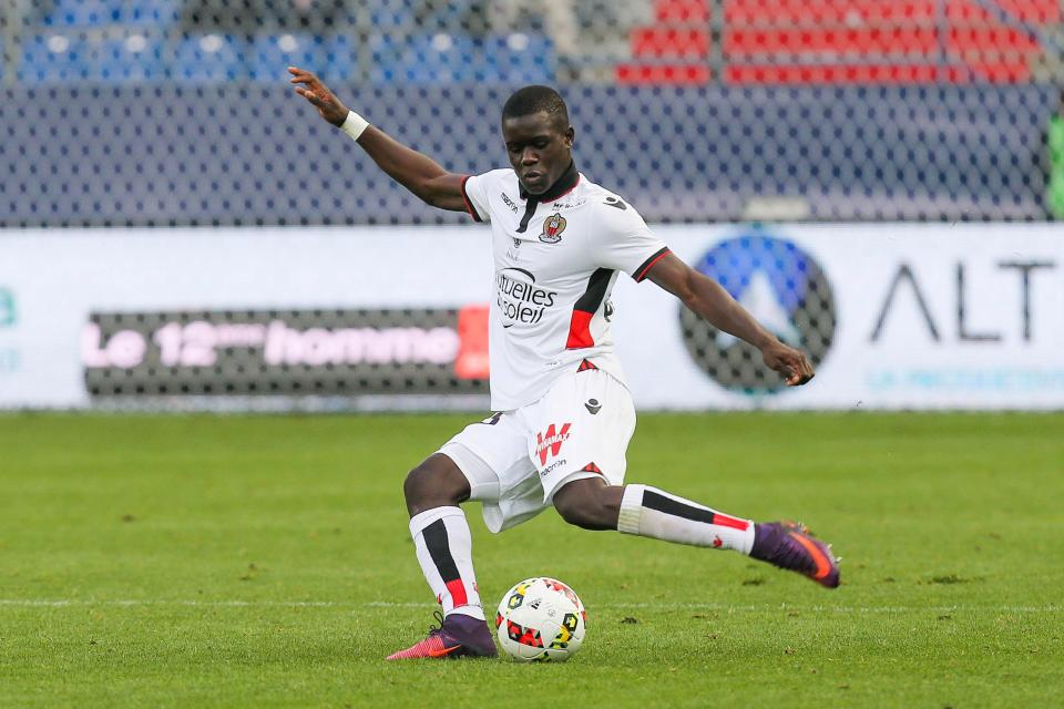 OGC Nice defender Malang Sarr in action. (Getty Images)