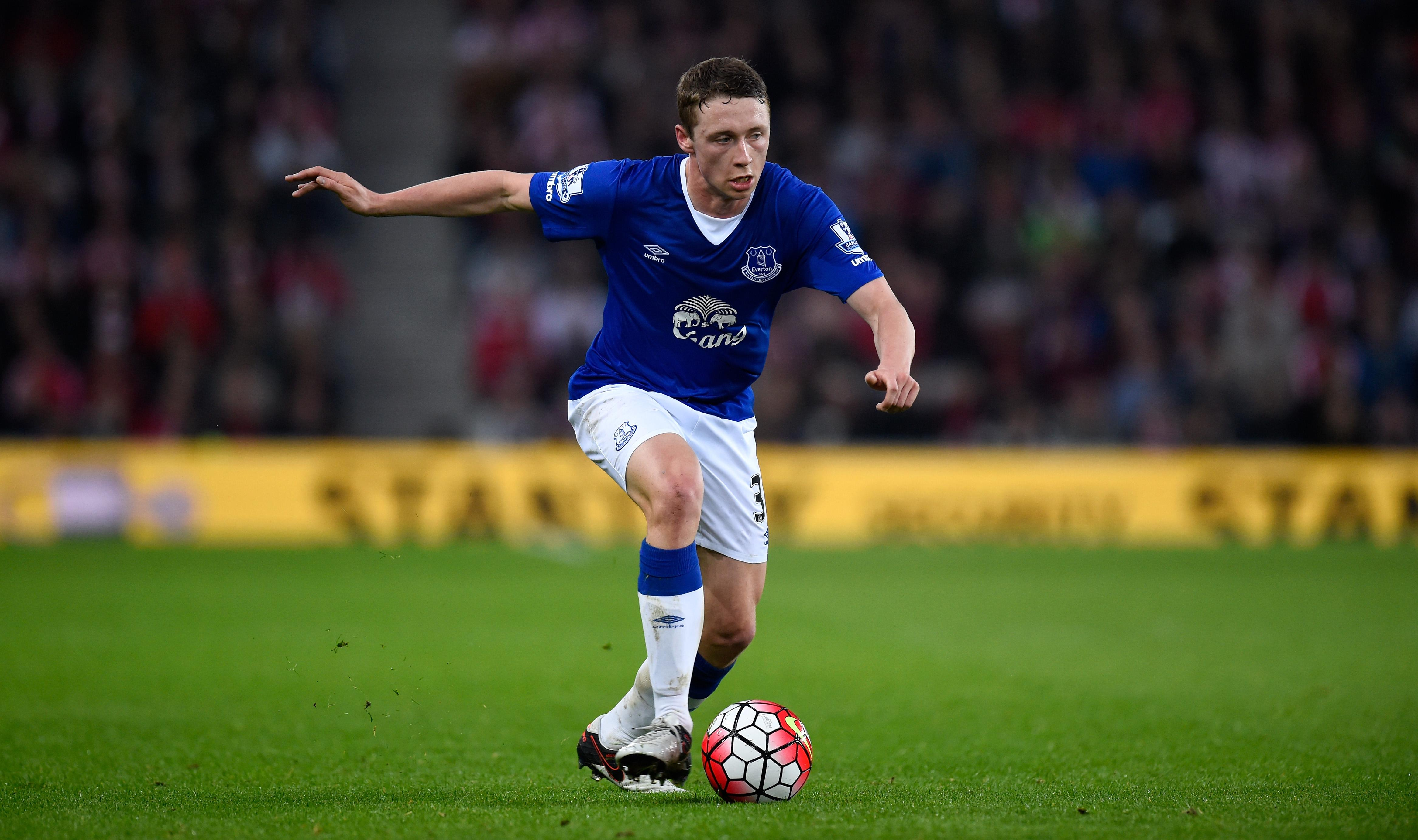 Everton defender Matthew Pennington in action. (Getty Images)