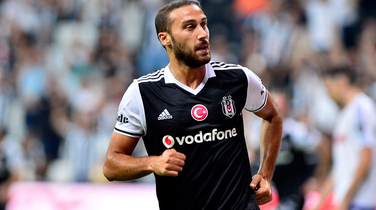 Cenk Tosun was a prolific goalscorer for Besiktas. (Getty Images)