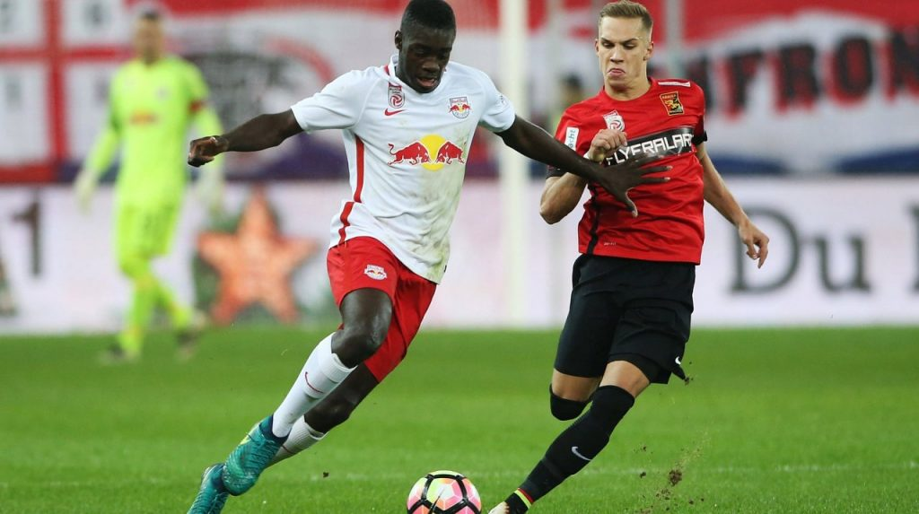 Dayot Upamecano (L) (Getty Images)
