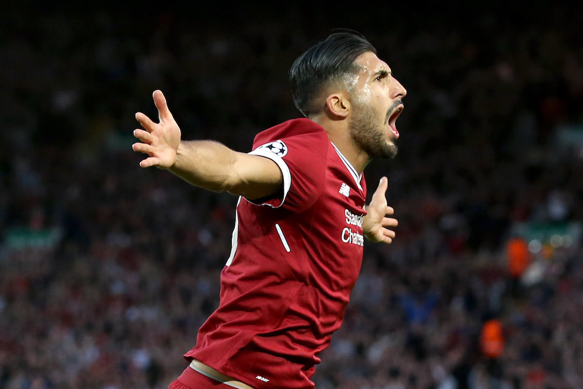 Emre Can would be a great fit at Man United (Getty Images)