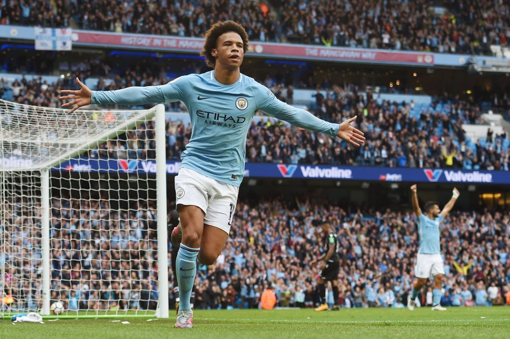 Leroy Sane has fallen down the pecking order under City coach Pep Guardiola.