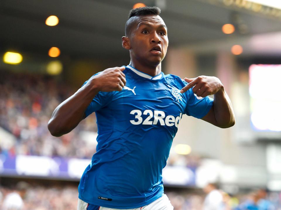 Rangers striker Alfredo Morelos has been in sensational form this season. (Getty Images)