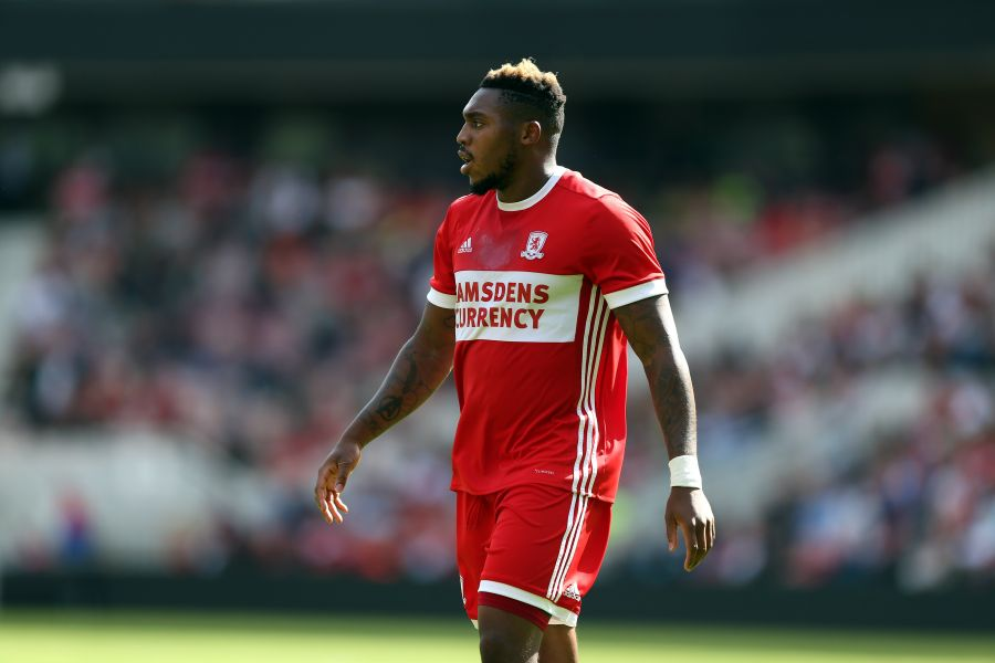 Britt Assombalonga in action for Middlesbrough. (Getty Images)