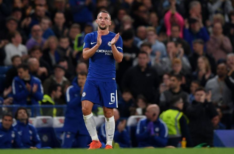 Danny Drinkwater has rarely featured for Chelsea ever since moving from Leicester City.