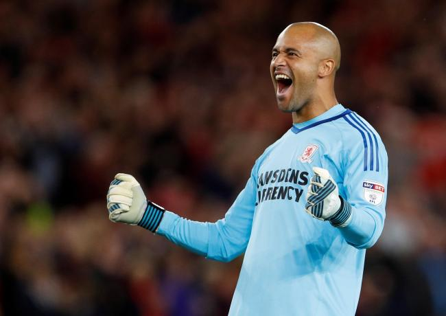 Darren Randolph is one of the best goalkeepers in the Championship. (Getty Images)