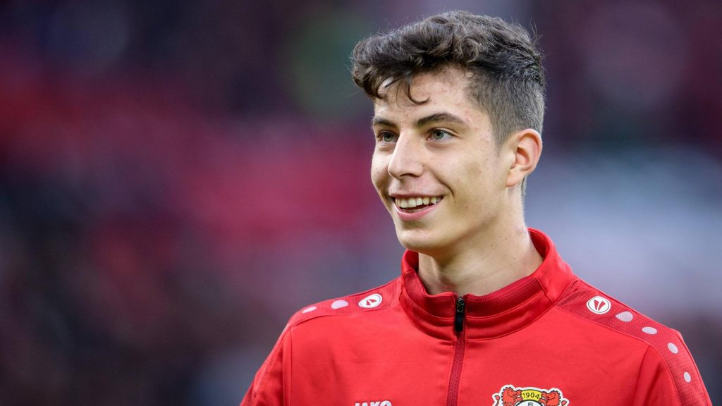 Bayern attacking midfielder Kai Havertz.