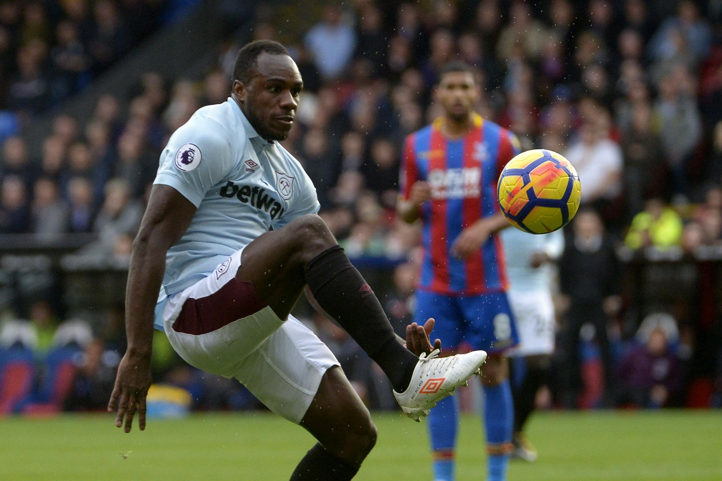 Michail Antonio would be an ideal replacement if Zaha departs Crystal Palace (Getty Images)
