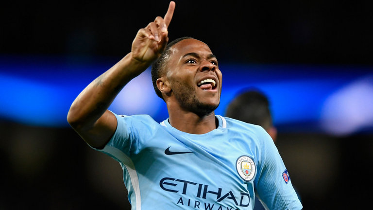 Raheem Sterling has developed into one of the world's best players at Man City.