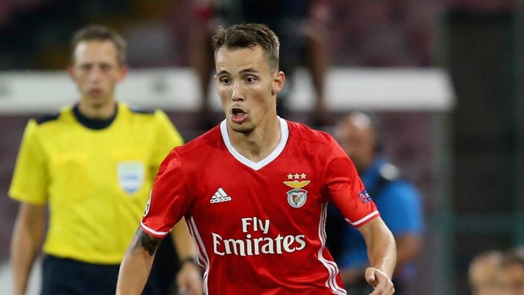 Benfica's Alex Grimaldo has been one of the best left-backs in Portugal over the last couple of seasons. (Getty Images)