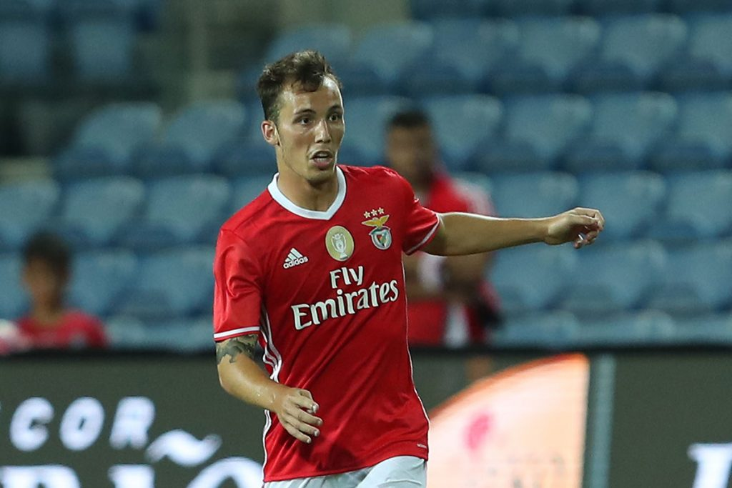 Benfica left-back Alejandro Grimaldo in action. (Getty Images)