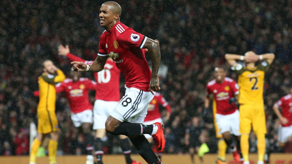 Ashley Young is a free agent at the end of the season (Getty Images)