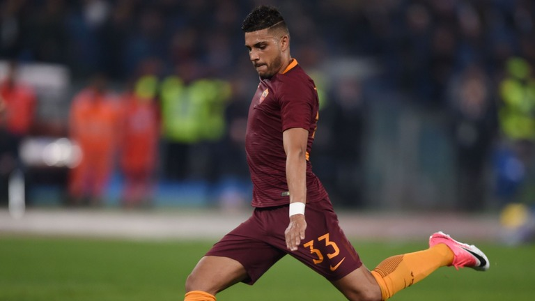 Emerson Palmieri in action for AS Roma. (Getty Images)
