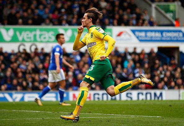 James Maddison during his days with former side Norwich City.