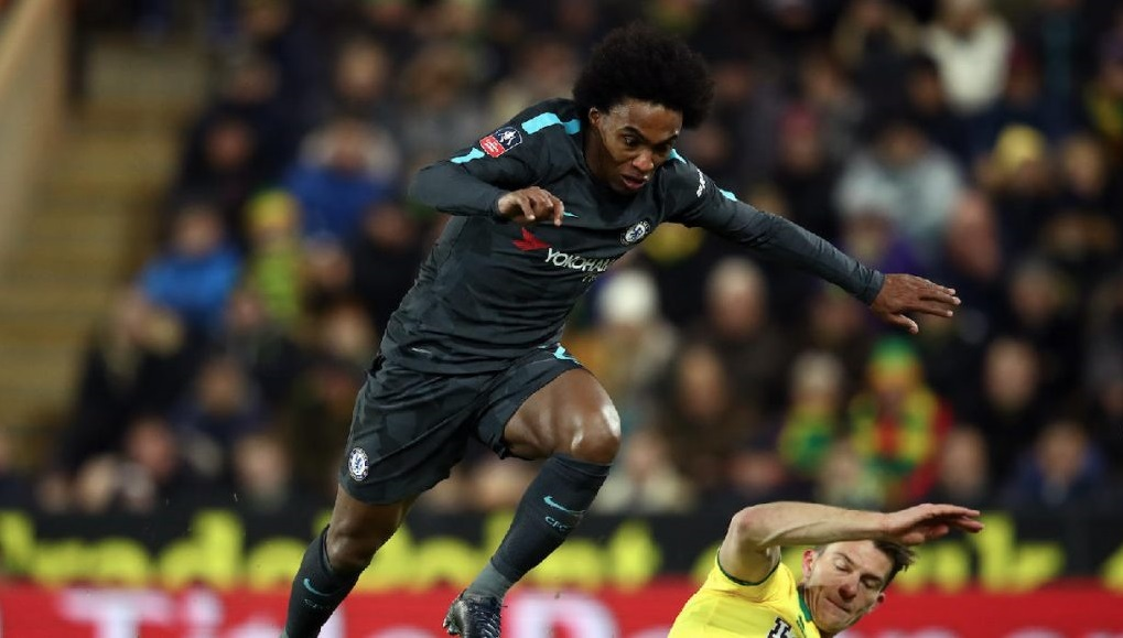 Willian has played over 300 games for Chelsea. (Getty Images)
