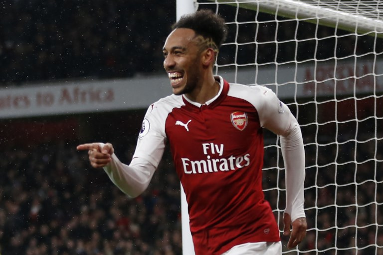 Arsenal skipper and their league's top-scorer Pierre-Emerick Aubameyang.