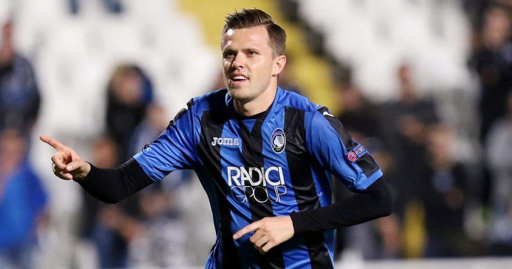 Atalanta forward Josip Ilicic in action. (Getty Images)