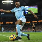 Raheem Sterling in action for Manchester City. (Getty Images)