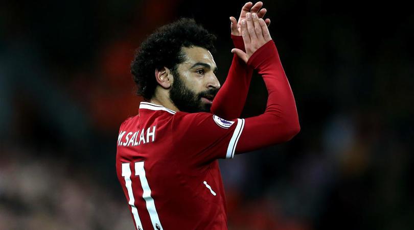 Liverpool star Mohamed Salah