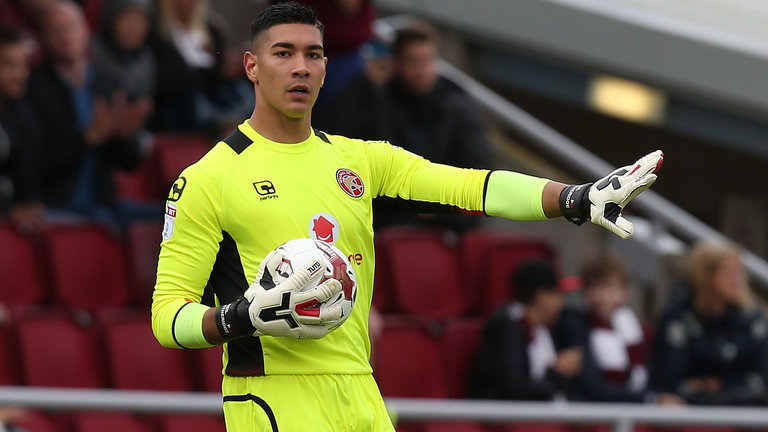 Neil Etheridge in action for Walsall. (Getty Images)