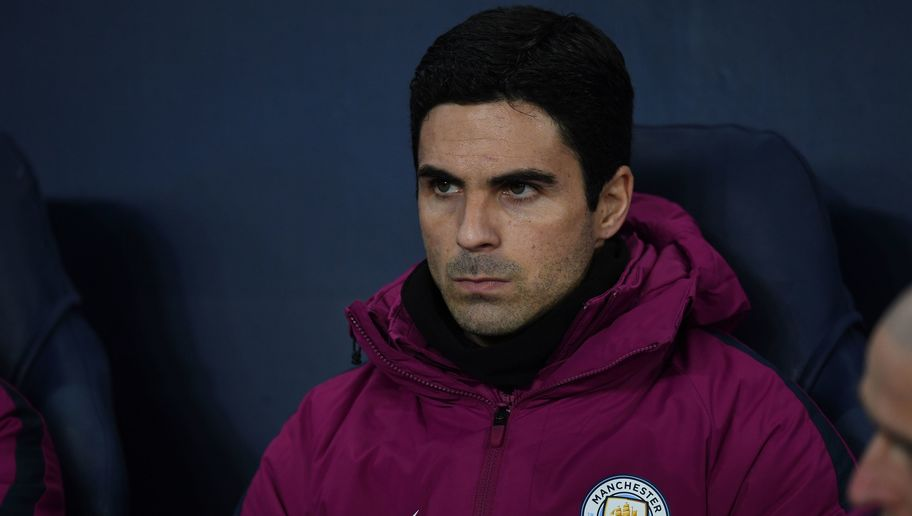 Former Arsenal midfielder and current Manchester City assistant manager Mikel Arteta.