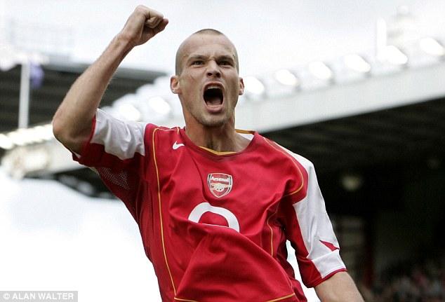 Arsenal's interim head Freddie Ljungberg (Getty Images)