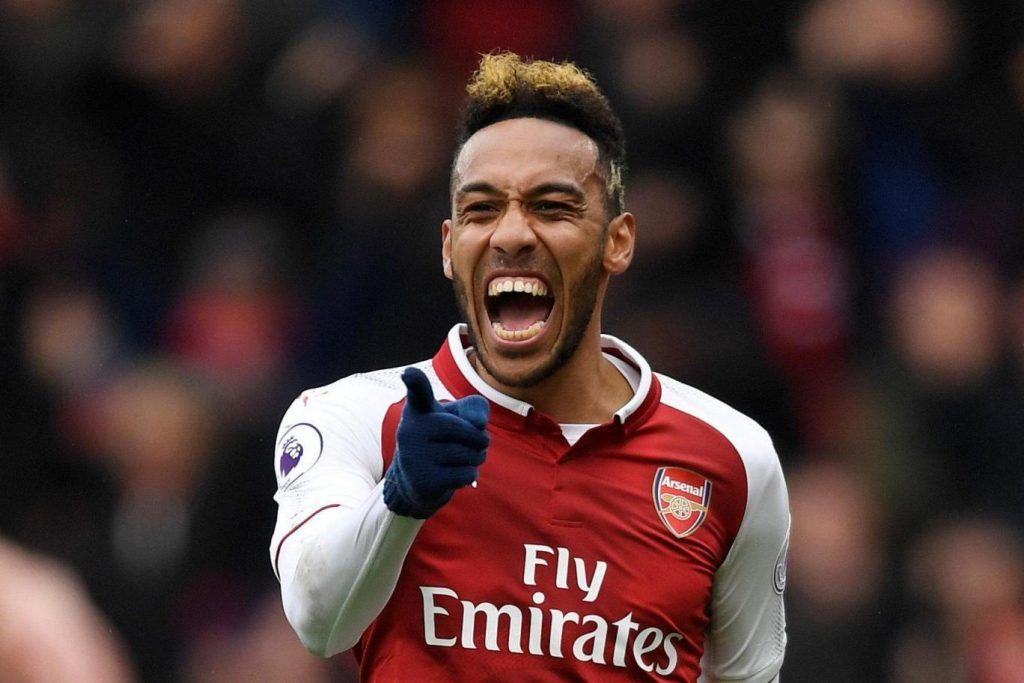 Arsenal skipper and striker Pierre-Emerick Aubameyang.