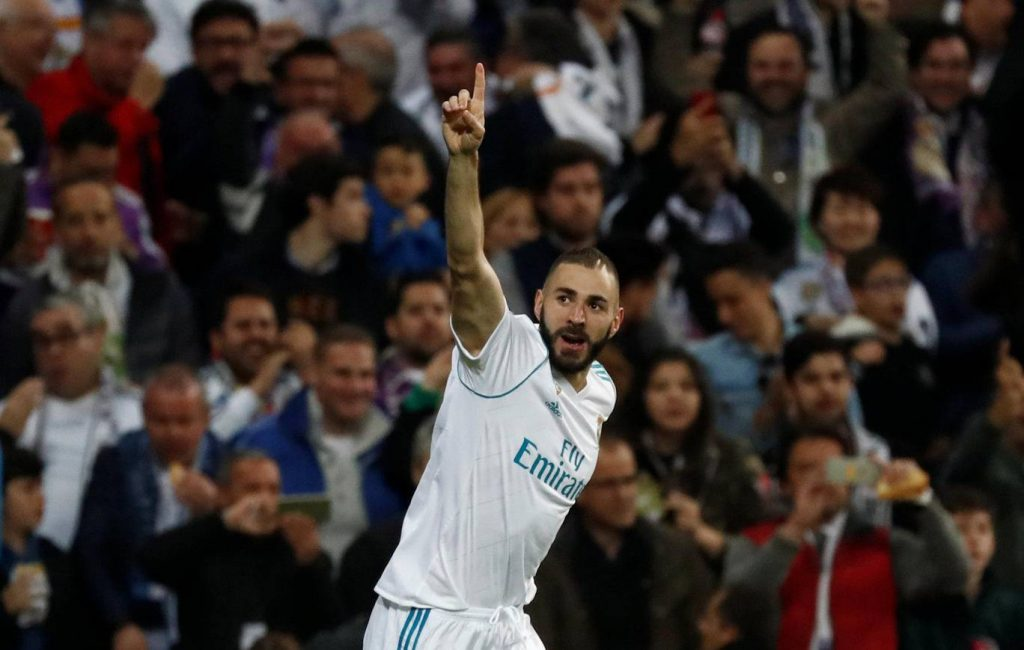 Real Madrid striker Karim Benzema is back among the goals this season.