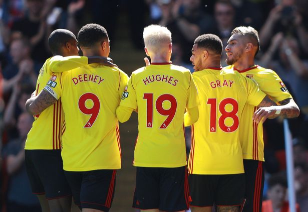 Watford has won just one game out of 12 games, this season.