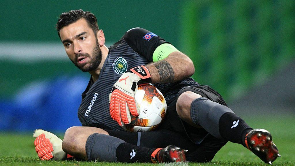 Wolves Portuguese keeper Rui Patricio.