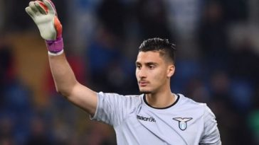 Lazio's Thomas Strakosha is regarded as one of the finest goalkeepers in the Serie A in recent years. (Getty Images)