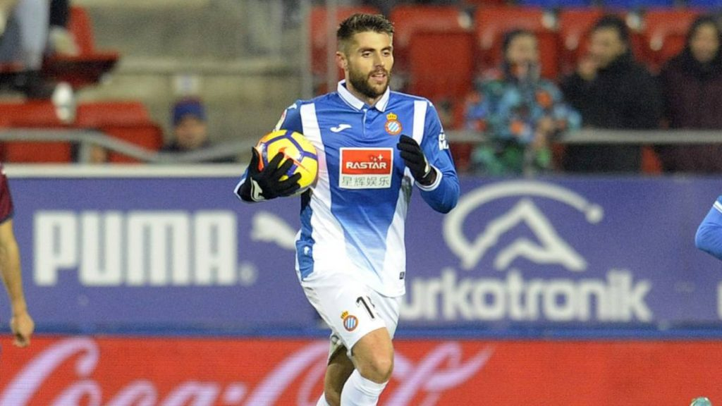 David Lopez of Espanyol