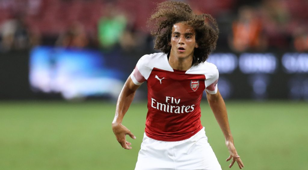 Young Matteo Guendouzi has evolved into one of the regular starters in Unai Emery's side.