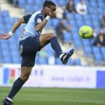Harold Moukoudi is one of the highly-rated French defenders. (Getty Images)