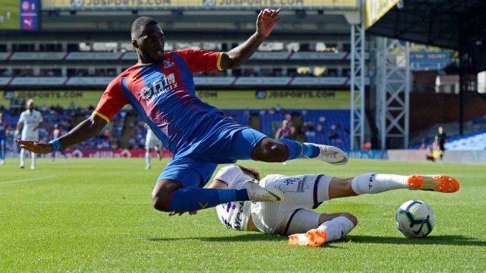 Christian Benteke in action for Crystal Palace (Getty Images)