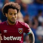 Felipe Anderson is action for West Ham. (Getty Images)