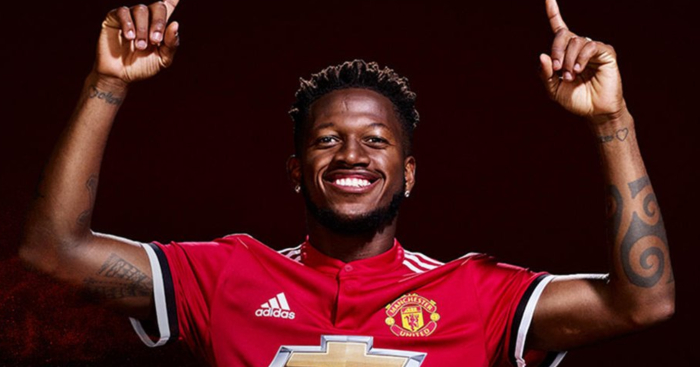 Brazilian Fred has shown signs of improvement and has featured in most games recently for United.