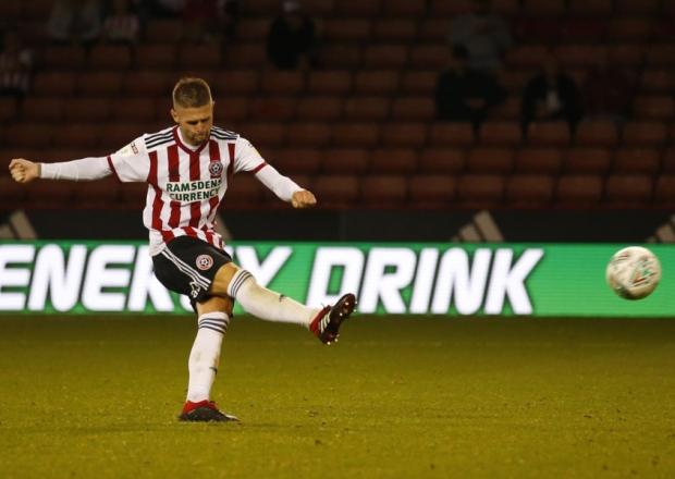 Sheffield United midfielder Oliver Norwood.