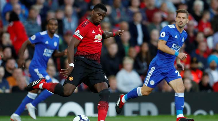 Manchester United's star man Paul Pogba is still out as he recovers from an ankle injury.
