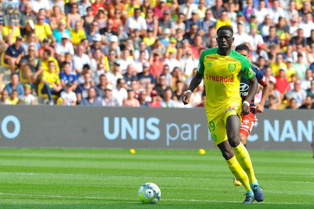 Nantes midfielder Abdoulaye Toure in action. (Getty Images)