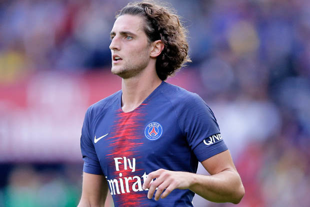 Adrien Rabiot during his time at PSG. (Getty Images)