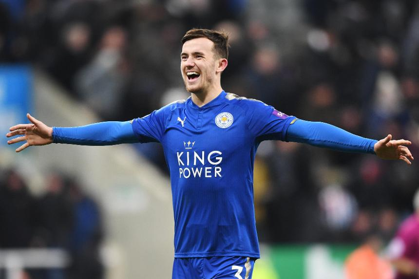 Leicester City full-back Ben Chilwell.