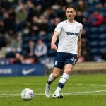 Preston defender Ben Davies in action. (Getty Images)