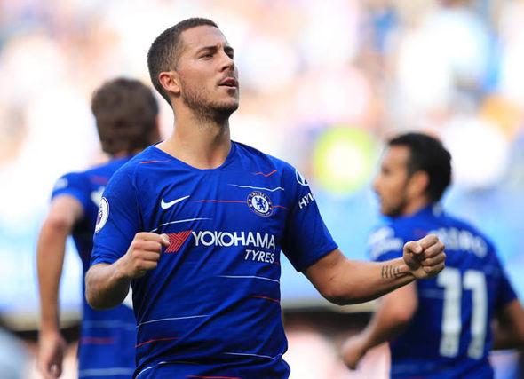 Former Chelsea forward Eden Hazard.