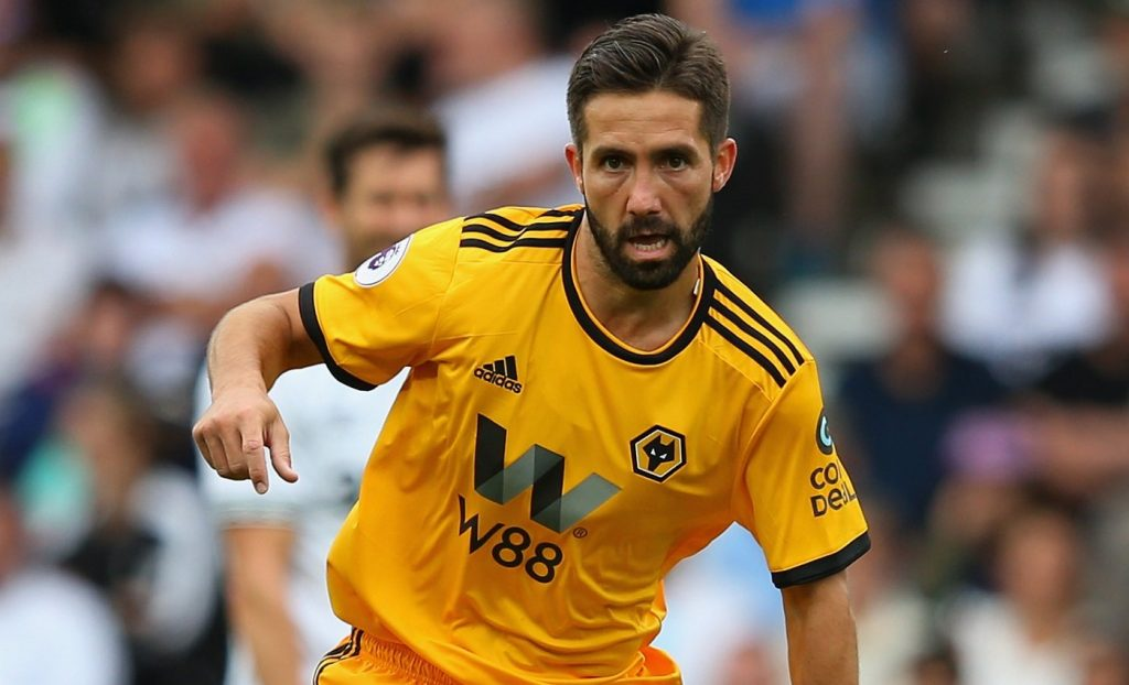 Wolves midfielder Joao Moutinho in action. (Getty Images)