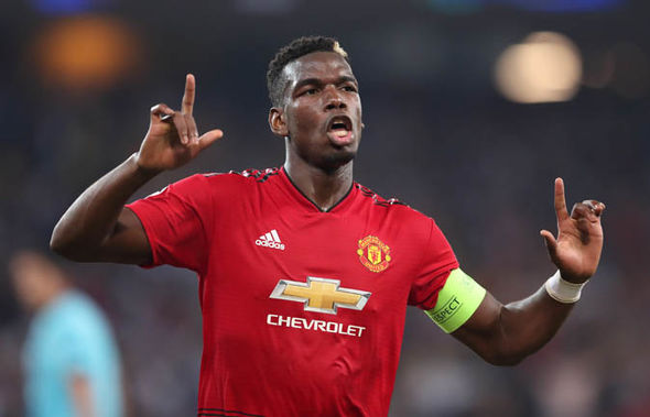 Star player Paul Pogba's future at the club remains an uncertainty at the moment.